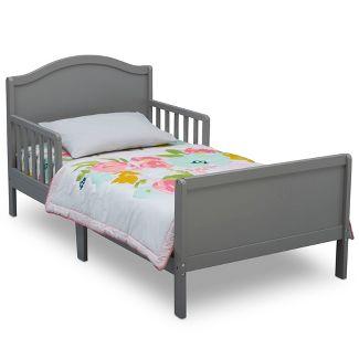 Delta Children Bennett Toddler Bed - Gray