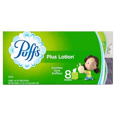 Puffs Plus Lotion Facial Tissue - 8pk