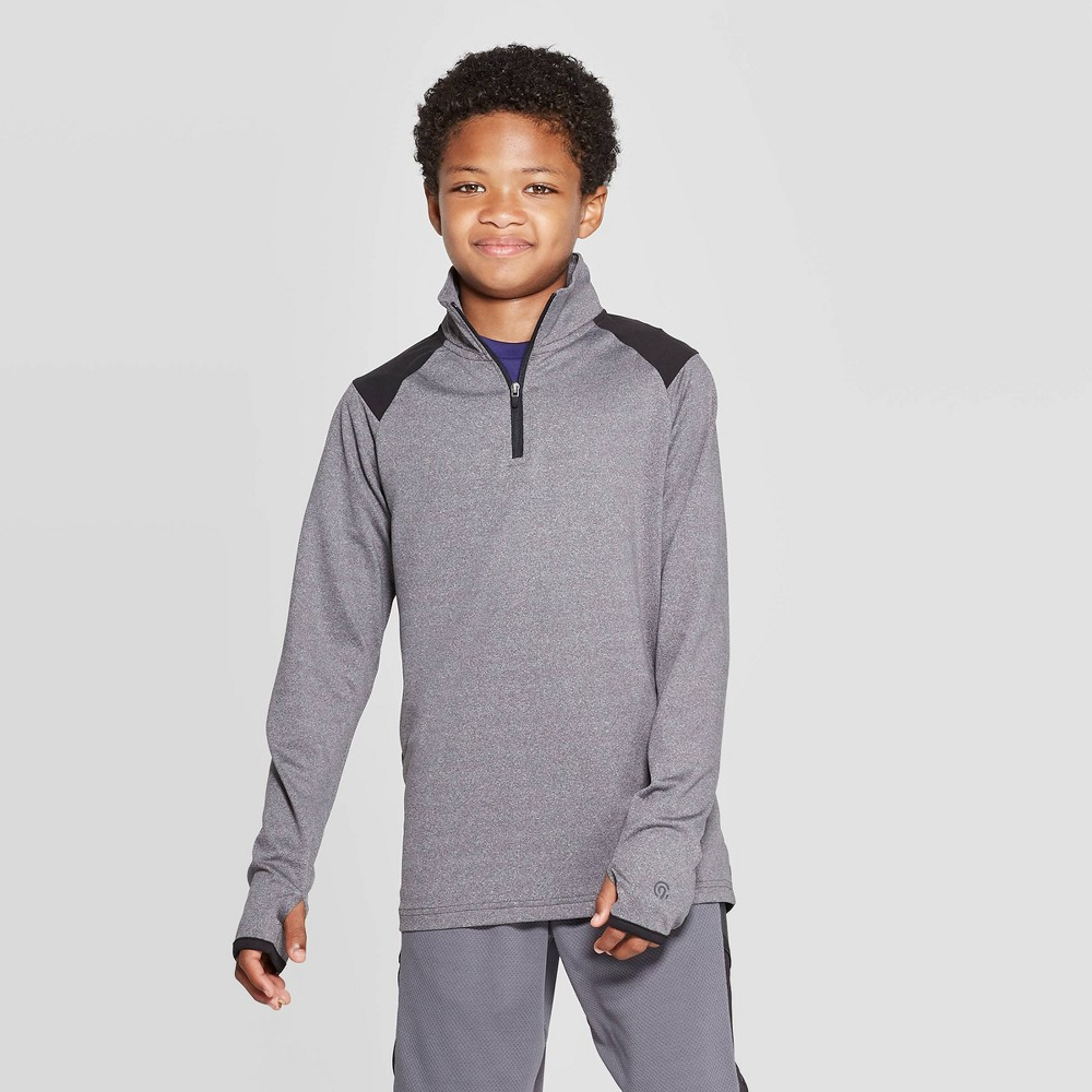 Image of Boys' Performance 1/4 Zip Pullover - C9 Champion Gray XL, Boy's