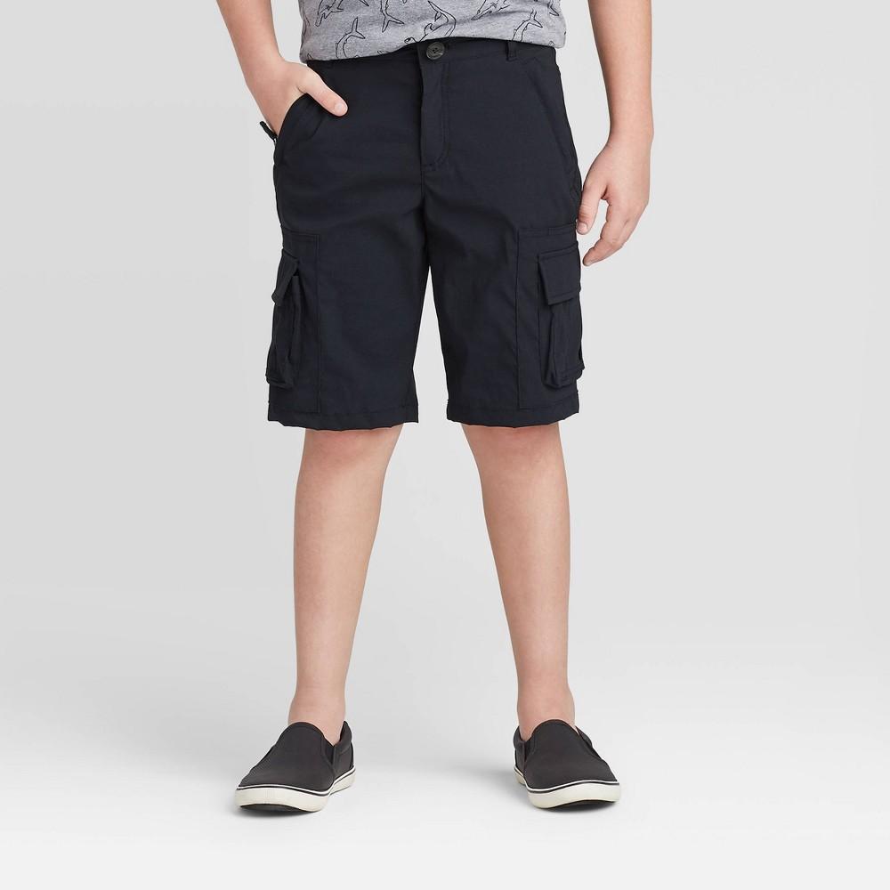 Image of Boys' Cargo Shorts - Cat & Jack Black 16, Boy's