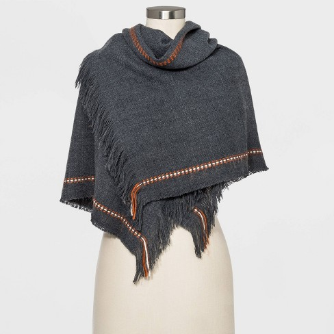 Women's Striped Rectangle Scarf - Universal Thread™ - image 1 of 2