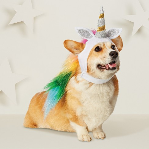 Unicorn Headwear Costume for Dog - Hyde and Eek! Boutique™ - image 1 of 3