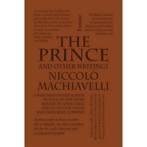 The Prince and Other Writings - (Word Cloud Classics) by  Niccolò Machiavelli (Paperback) - image 1 of 1