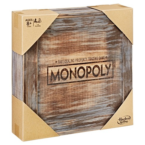 Monopoly Game Rustic Series Edition Target