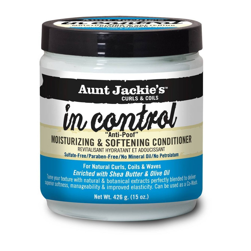 Image of Aunt Jackie's In Control Anti-Poof Moisturizing & Softening Conditioner - 15oz