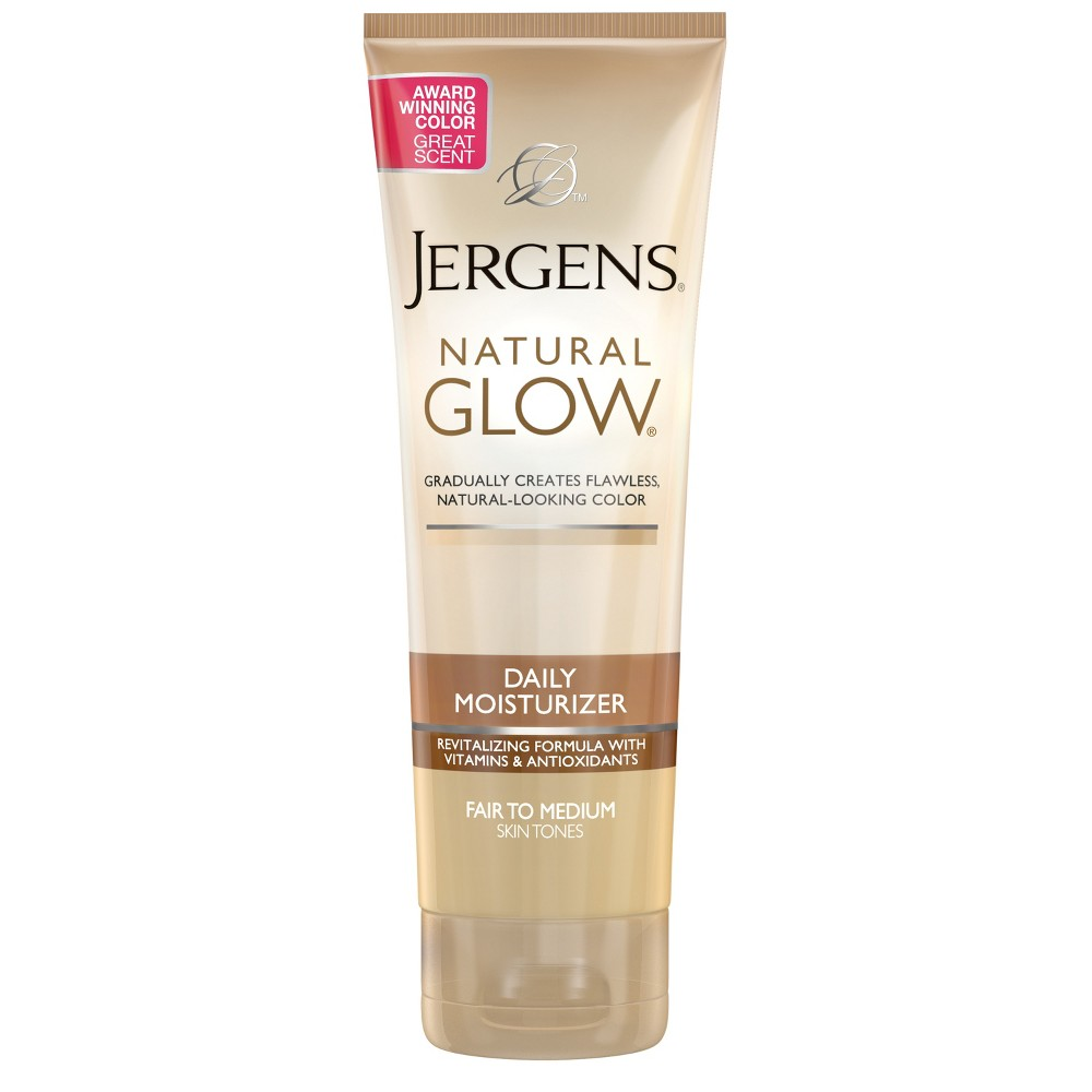 Image of Jergens Natural Glow Daily Moisturizer Fair To Medium Skintone - 7.5 fl oz