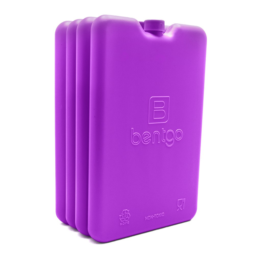 Image of Bentgo Ice Lunch Chillers 4pk - Purple