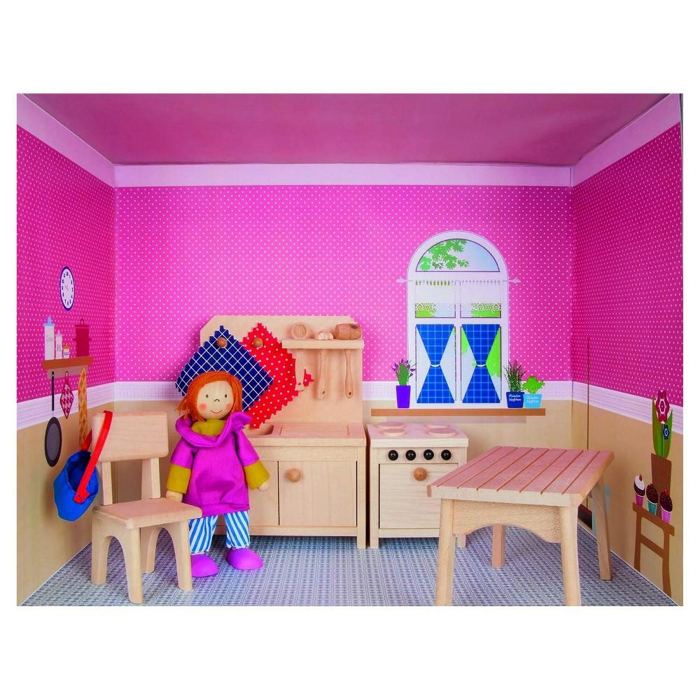 Rulke Puppenhaus Im Regal Doll House Modular Play Set - Kitchen