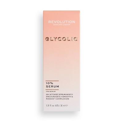 Makeup Revolution Skincare 10% Glycolic Acid Glow Serum - 1.01 fl oz