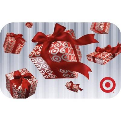 Raining Gift Boxes Target GiftCard