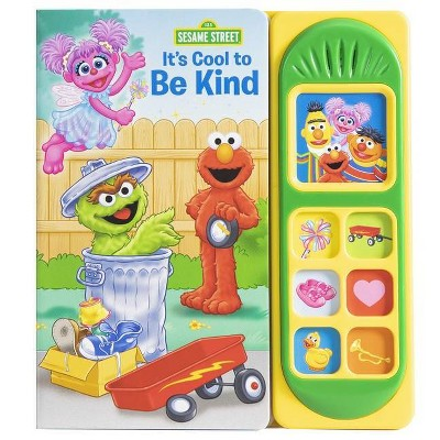 Sesame Street It's Cool to Be Kind Sound Book with Elmo - by Erin Rose Wage (Board Book)