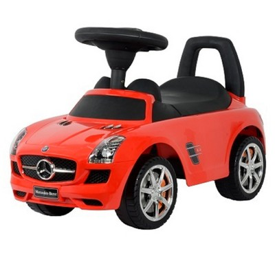 Best Ride On Cars Baby Toddler Ride-On Mercedes Benz Push Car with Sounds, Red