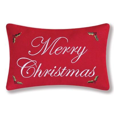 C&F Home Merry Christmas Petite Pillow
