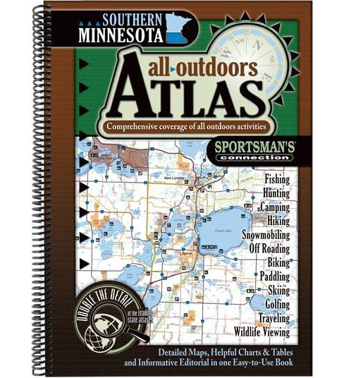 Southern Minnesota All-Outdoors Atlas (Paperback) - image 1 of 1