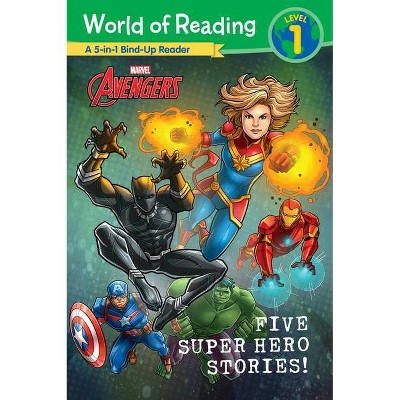 World of Reading: Five Super Hero Stories! - (Paperback)