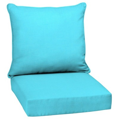 Arden Selections Outdoor Deep Seat Set Leala Texture