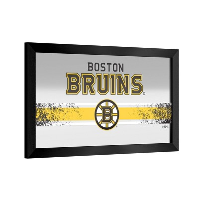 NHL Boston Bruins Framed Logo Mirror