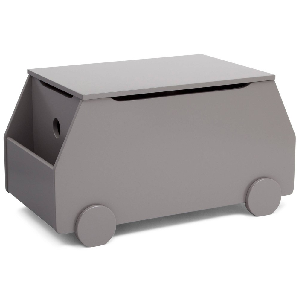 Image of Metro Toy Box Classic Gray - Delta Children