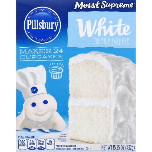 Pillsbury Moist Supreme White Cake Mix - 15.25oz - image 1 of 4