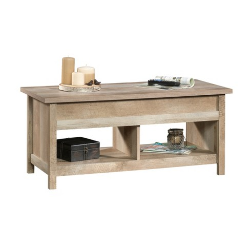 Cannery Bridge Lift Top Coffee Table Lintel Oak Finish - Sauder - image 1 of 7
