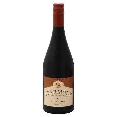 Starmont Pinot Noir Red Wine - 750ml Bottle