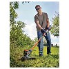 "BLACK+DECKER 60V MAX Lithium 13"" String Trimmer - Black - image 3 of 4"