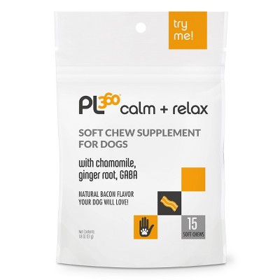 PL360 Calming Dog Soft Chew Supplement