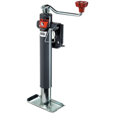 Bulldog 1514010117 Heavy Duty Universal 2,000 Pound A Frame Topwind Trailer Jack Stand with 10 Inches of Travel - image 1 of 1