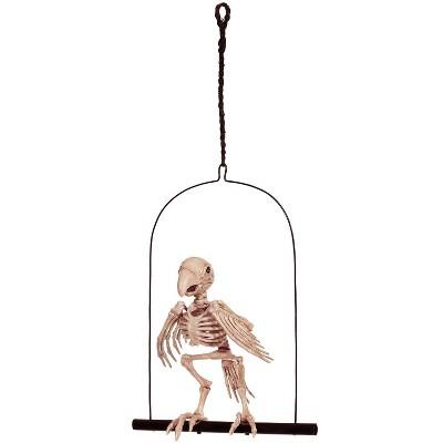 12.5' Parrot on a Perch Halloween Decorative Prop