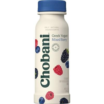 Chobani Mixed Berries Greek Style Yogurt Drink - 7 fl oz