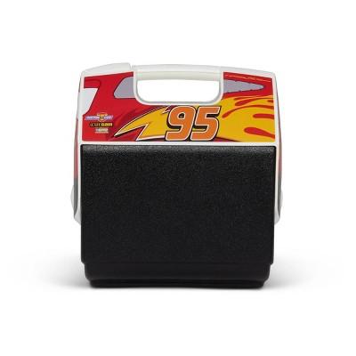 Igloo Playmate Pal Disney Cars Lightning McQueen7qt Portable Cooler