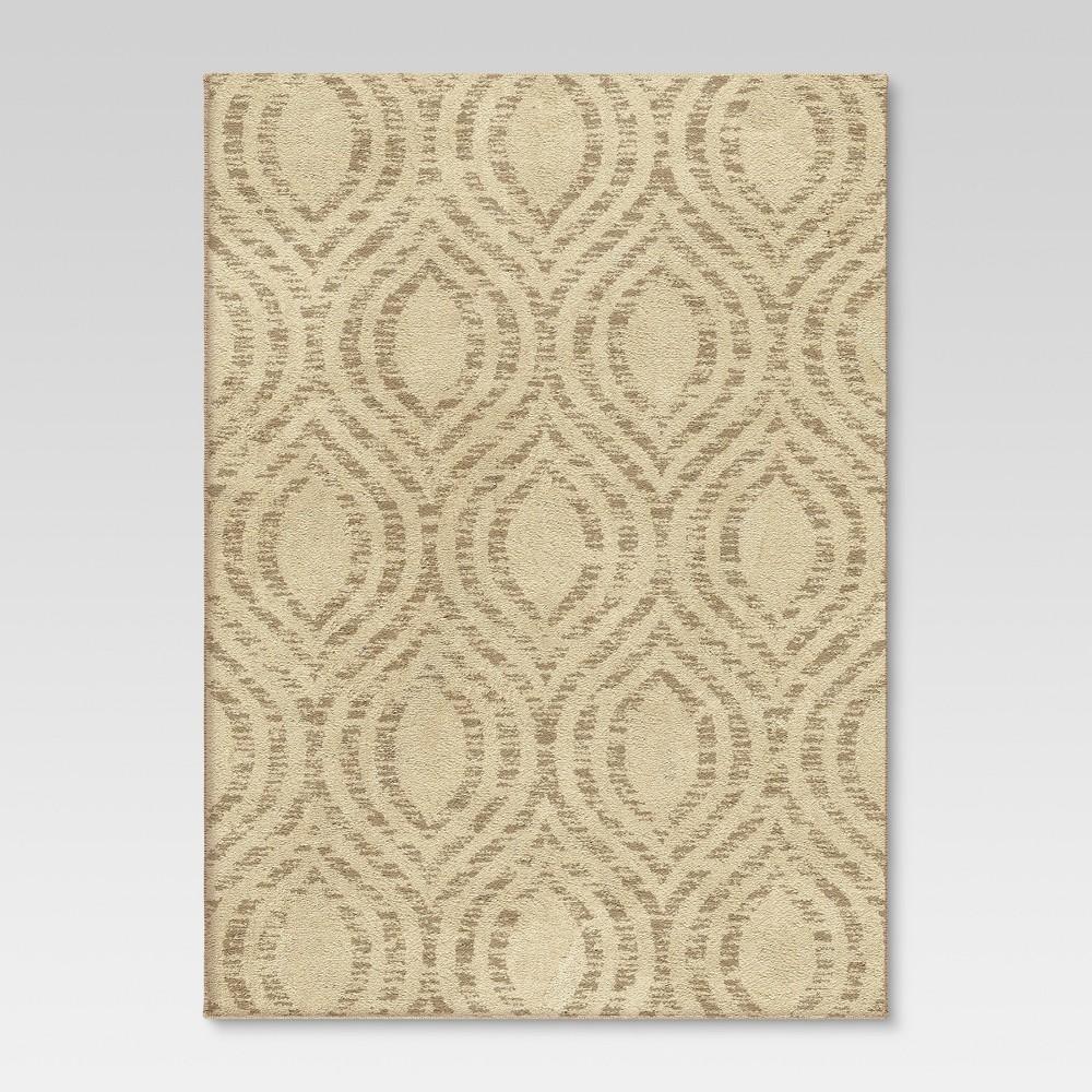 Arden Fleece Area Rug - Ivory (4'x6') - Threshold