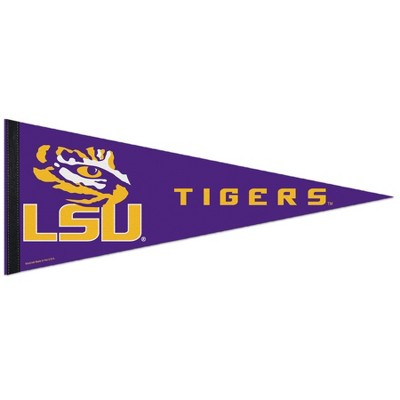 "NCAA LSU Tigers 30"" Premium Pennant"