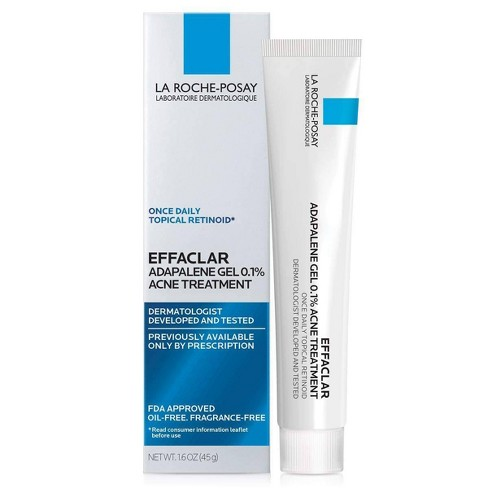 La Roche-Posay Effaclar Adapalene Topical Retinoid Acne Treatment - 1.6oz - image 1 of 4