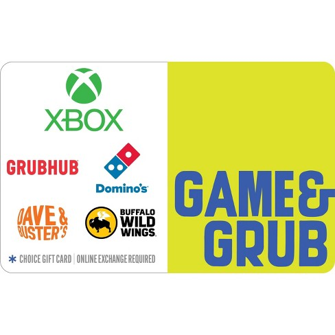 Game and Grub Gift Card (Email Delivery) - image 1 of 1