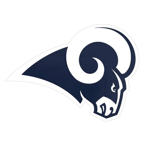 nfl los angeles rams large outdoor logo decal target nfl los angeles rams large outdoor logo decal
