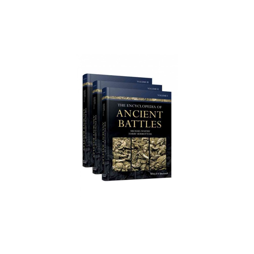 Encyclopedia of Ancient Battles (Hardcover) (Michael Whitby & Harry Sidebottom)