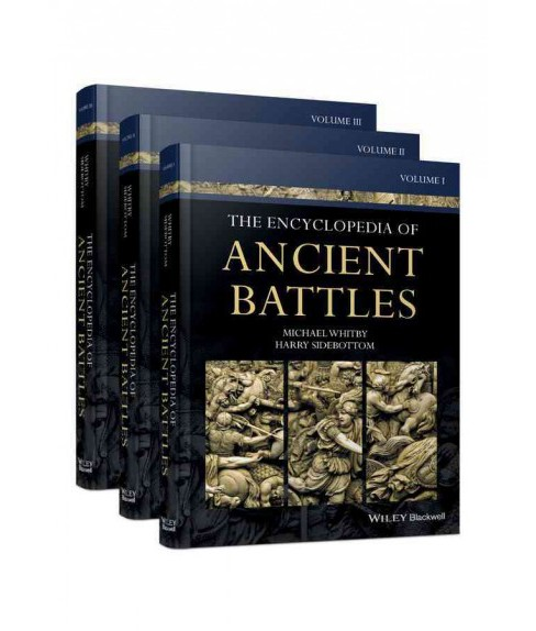 Encyclopedia of Ancient Battles (Hardcover) (Michael Whitby & Harry Sidebottom) - image 1 of 1
