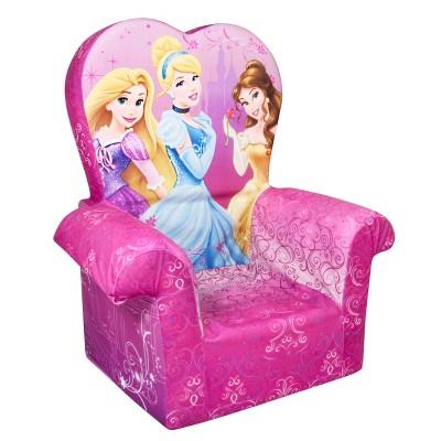 Marshmallow Furniture Childrenu0027s Foam High Back Chair - Disneyu0027s Princess By Spin Master  Target  sc 1 st  Target & Marshmallow Furniture Childrenu0027s Foam High Back Chair - Disneyu0027s ...