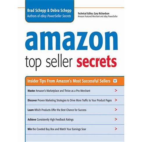 Amazon Top Seller Secrets By Brad Schepp Debra Schepp Paperback Target