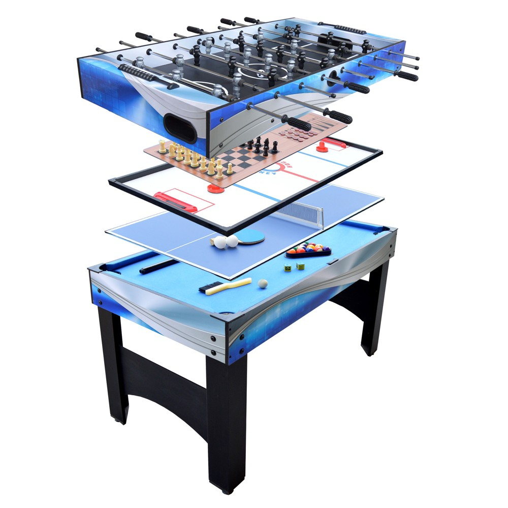 Hathaway Matrix 54 Inch 7-in-1 Multi Game Table, Adult Unisex