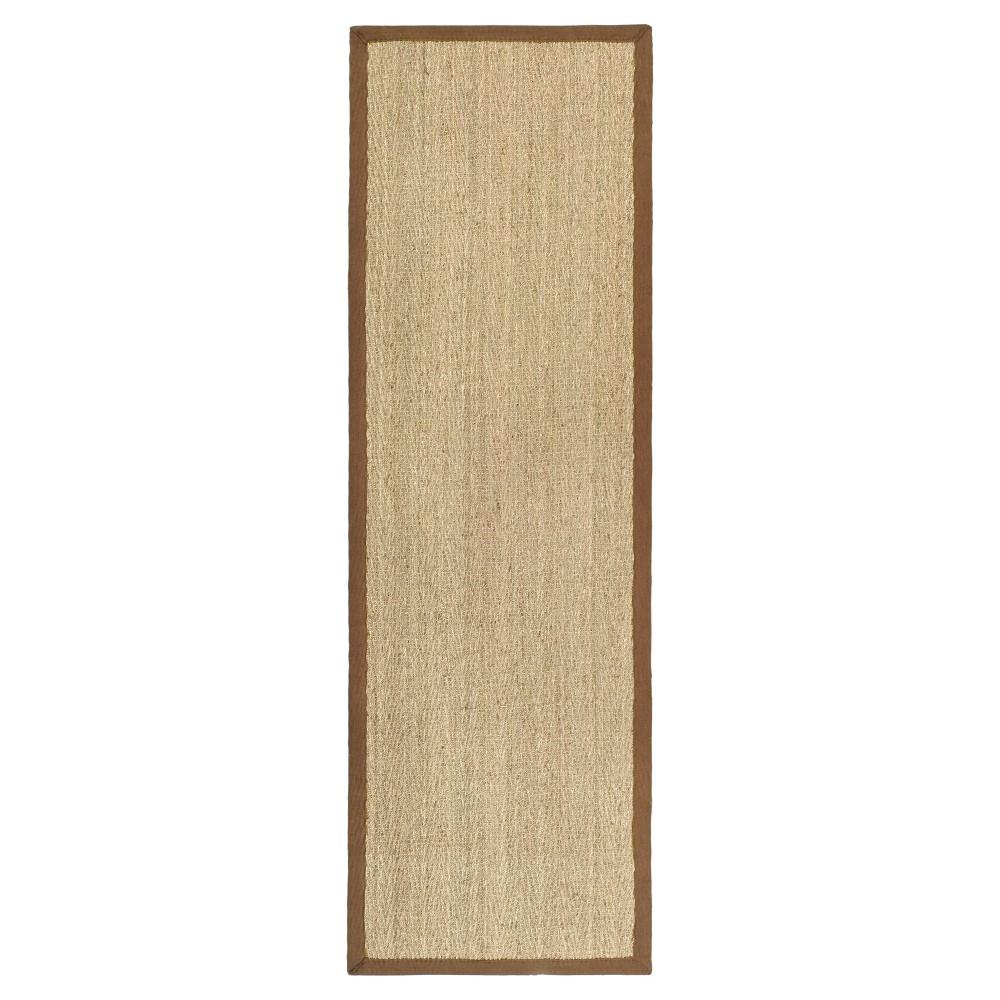 Natural Fiber Rug - Natural/Brown - (2'6x8') - Safavieh