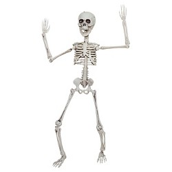 "20"" Halloween Poseable Skeleton"