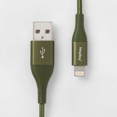 heyday™ Lightning to USB-A Braided Cable 6ft - Green