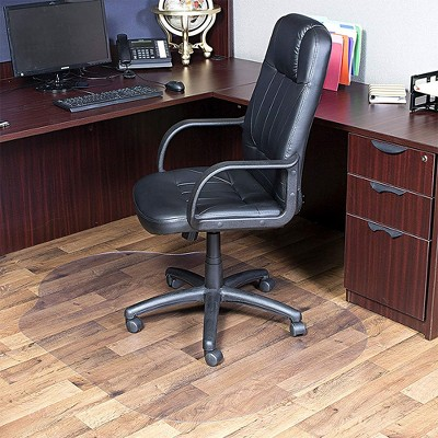 3'x4' Square Office Chair Mat Clear - Evolve : Target