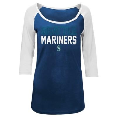 MLB Seattle Mariners Women's Play Ball Fashion Jersey