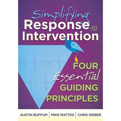 Simplifying Response to Intervention - by  Austin Buffum & Mike Mattos (Paperback) - image 1 of 1