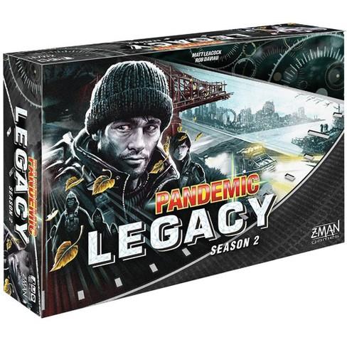Zman Games Pandemic: Legacy Season 2 (Black Edition) Board Game - image 1 of 3