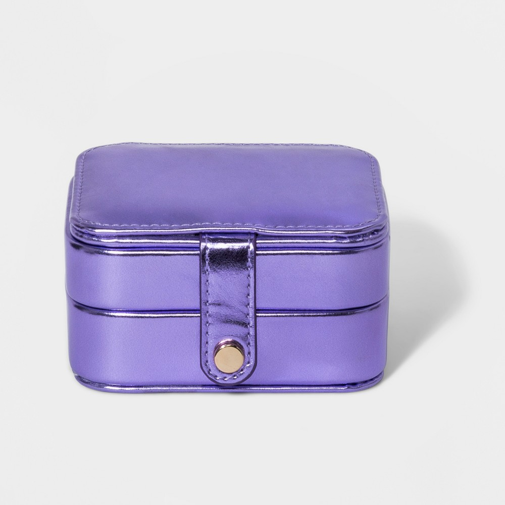 Jewelry Case with Interior Jewelry Organizer - A New Day Pale Purple