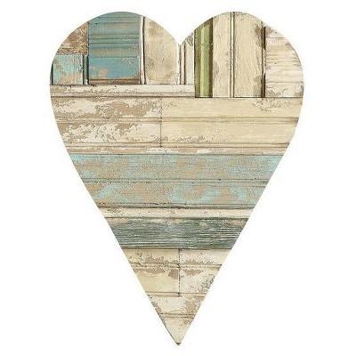Wood Heart Wall Décor - 3R Studios